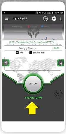 conectar titan vpn apk gratis para android 2018