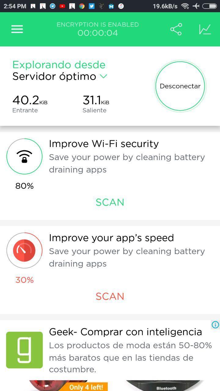 conectar touch vpn free gratis en android y pc