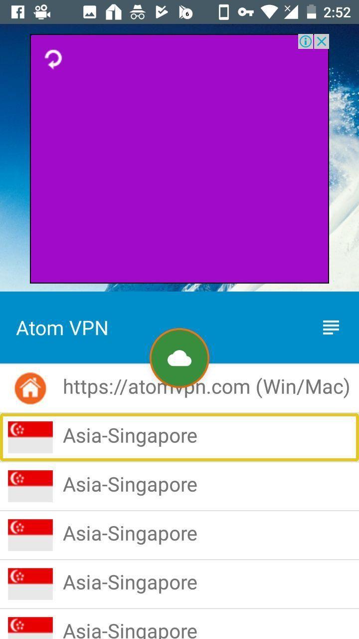 conectar y configurar atom vpn apk 2018 free android