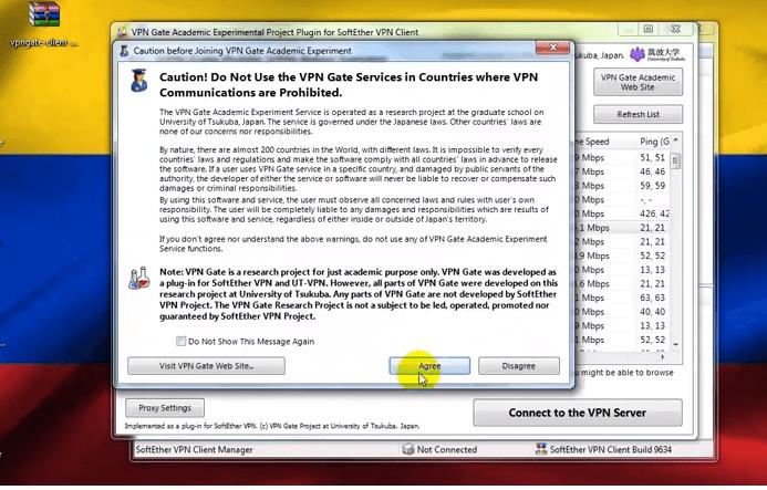 configuracion de vpn gate softether gratis en ordenador