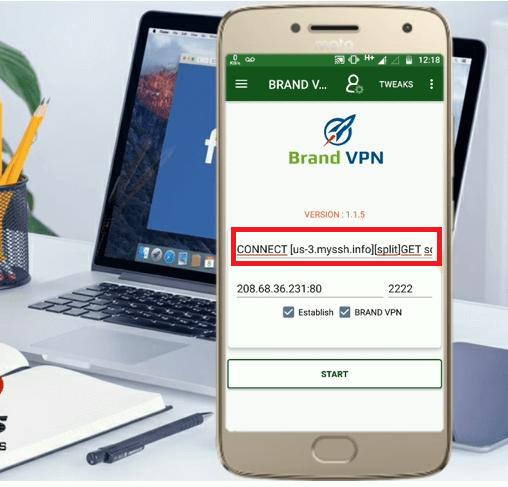 configurar brand vpn gratis android internet free