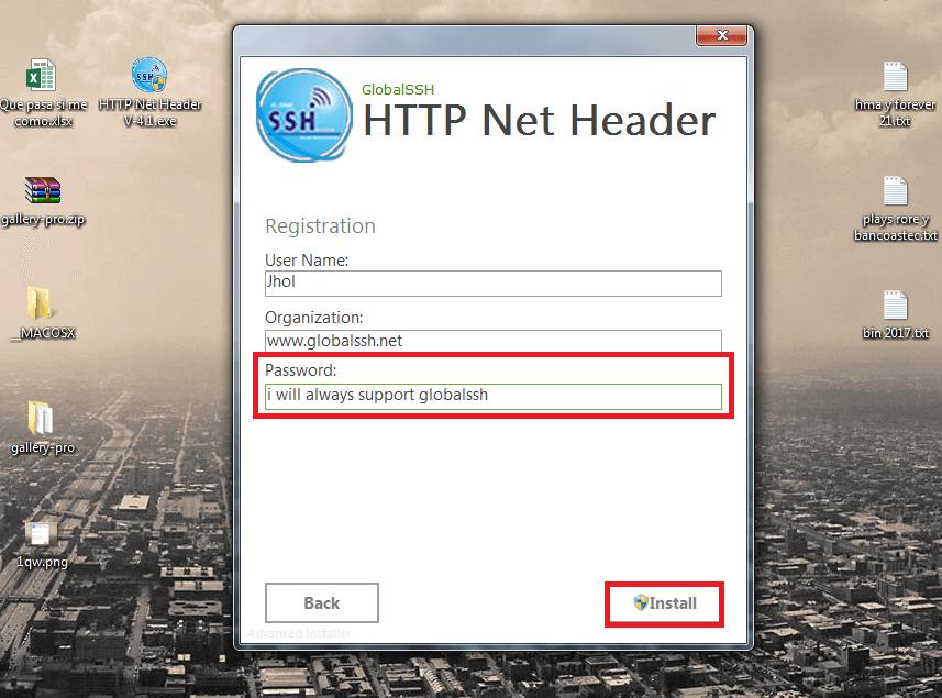 configurar http net header v4.1 netfree