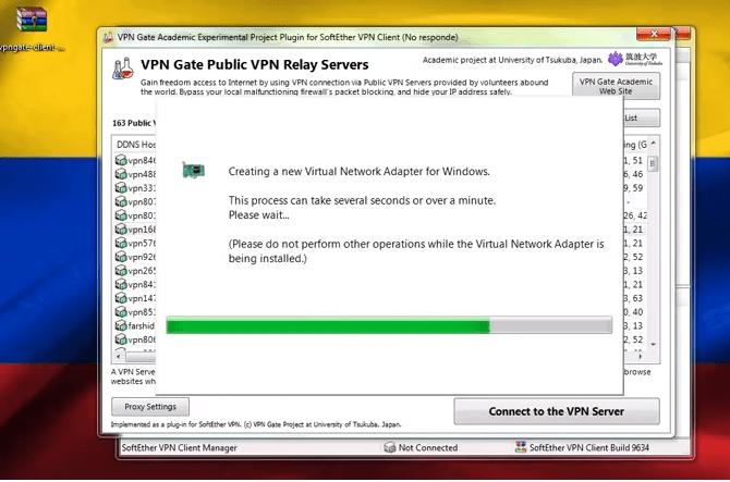 configurar vpn gate softether en windows pc