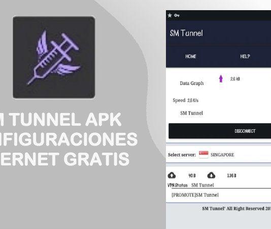 sm tunnel apk 2018 internet gratis trick host configurar payload