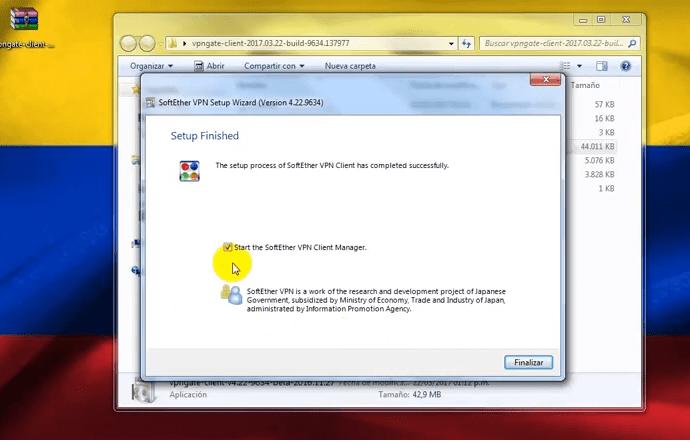vpn gate softether descargar y conectar en windows